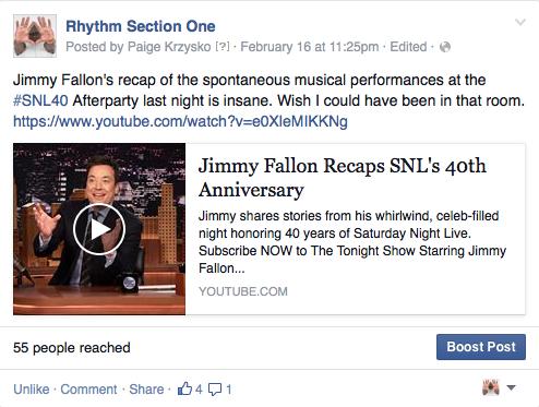 rhythm section one